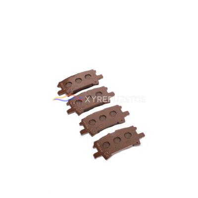 04466-48090 Semi Metal Brake Pads for Toyota Lexus