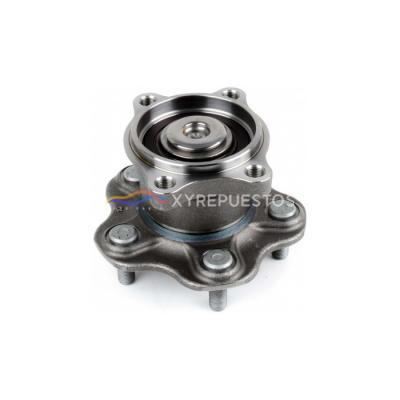 43202-9W200 Automobile rear wheel bearing and hub assembly For Nissan