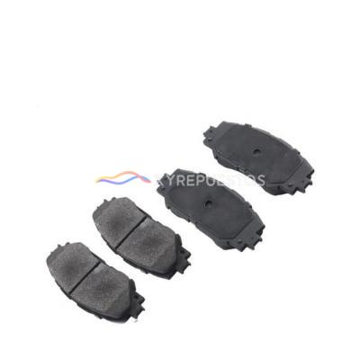 OE 04465-06080 XYREPUESTOS AUTO PARTS Repuestos Al Por Mayor Car Part Disc Brake Pads for Toyota Camry  Acv40 Gsv40