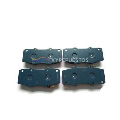 OE 04465-Yzzr5 XYREPUESTOS AUTO PARTS Repuestos Al Por Mayor Genuine Brake Front Brake Pads for Toyota Hilux with Ggn25